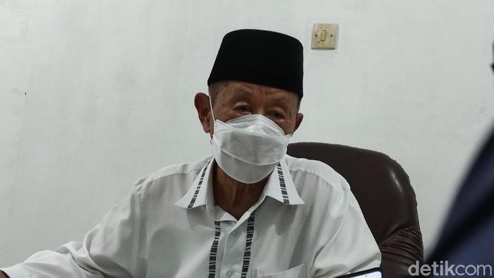 Ketua MUI Jateng, Ahmad Darodji, Kamis (1/4/2021).
