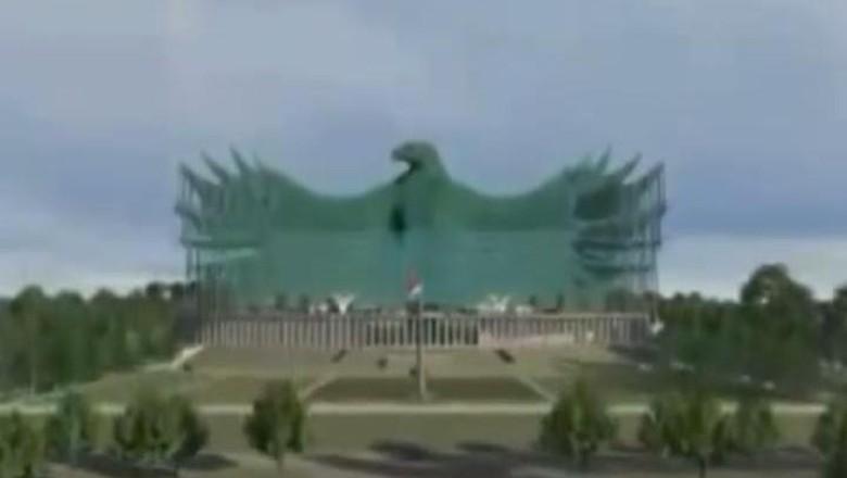 Konsep Desain Istana Ibu Kota Negara