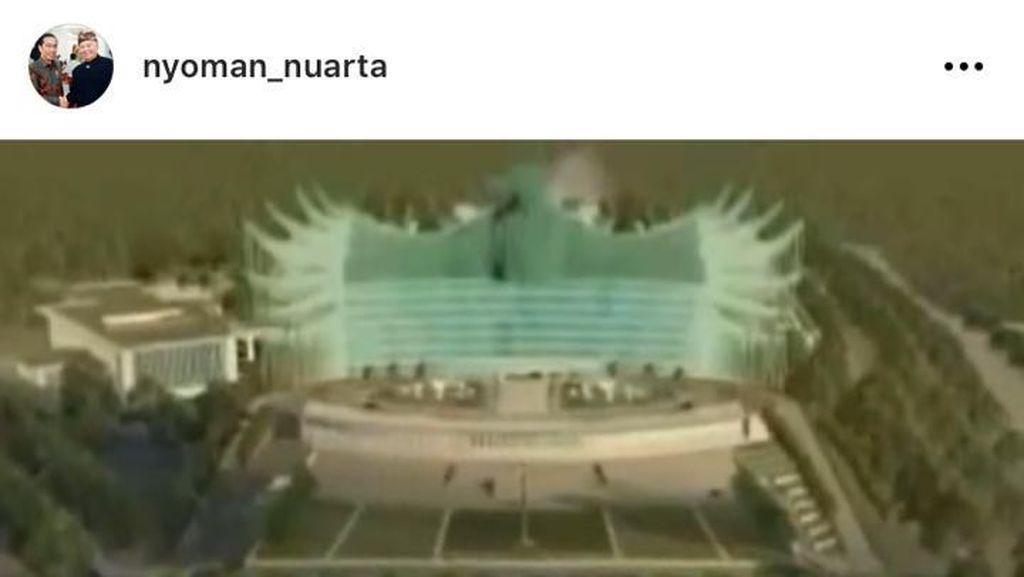 Geger Desain Garuda Istana Negara, PUPR: Masih Perlu Pengayaan