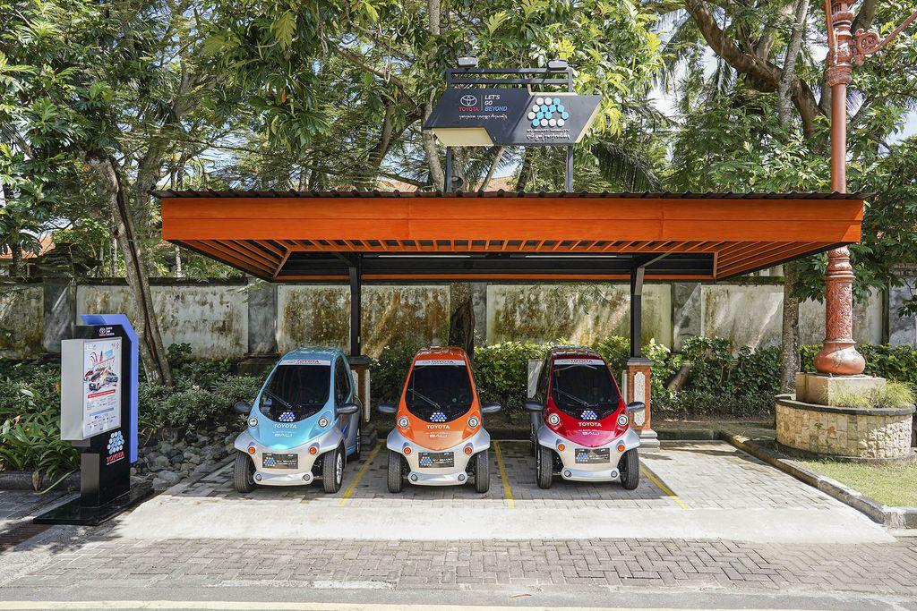 Mobil LIstrik di Bali