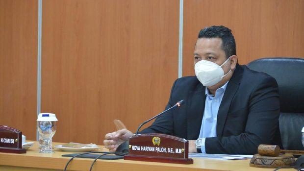 Sekretaris Fraksi NasDem DPRD DKI Jakarta, Nova Harivan Paloh
