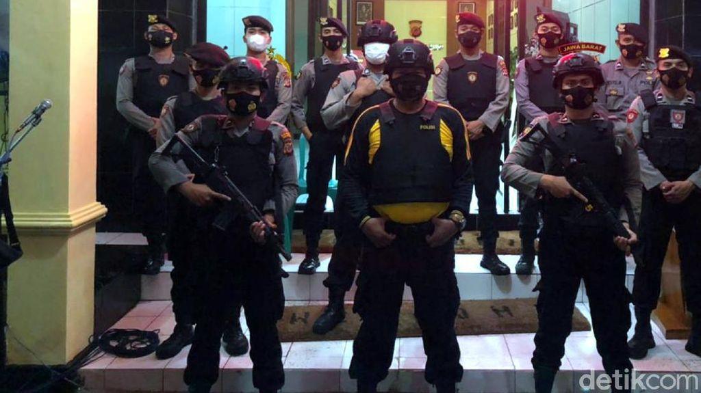 Polisi di Sukabumi-Sumedang Tingkatkan Pengamanan Buntut Cegah Terorisme