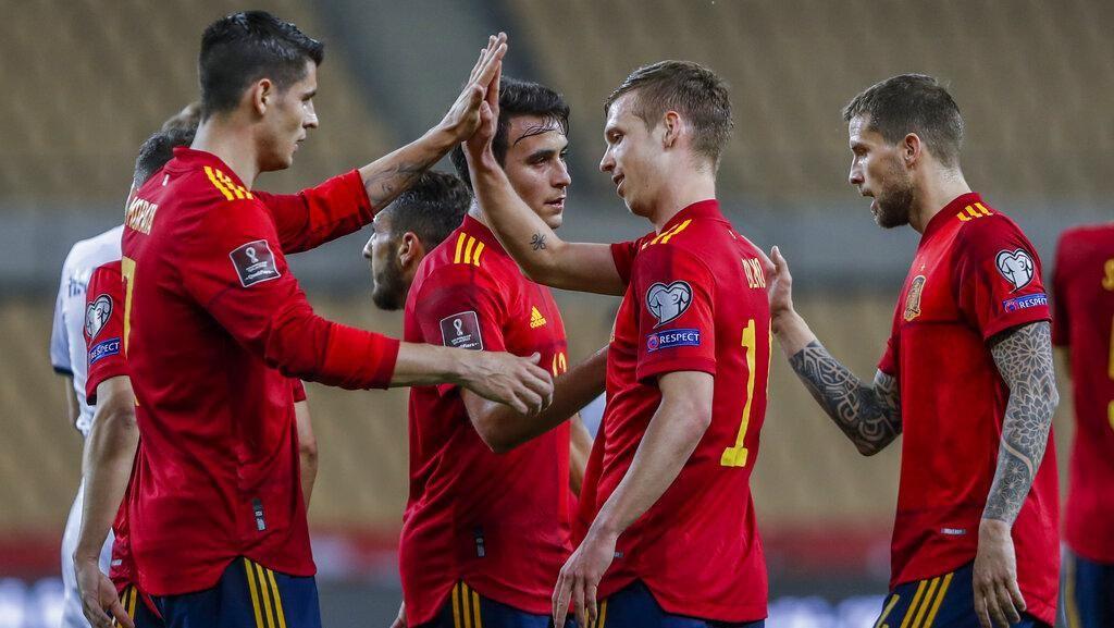 Spanyol Tundukkan Kosovo 3-1, La Furia Roja ke Puncak Klasemen