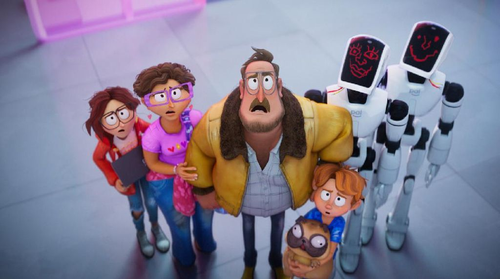 Mengintip di Balik The Mitchells vs. The Machines, Animasi Terbaru di Netflix