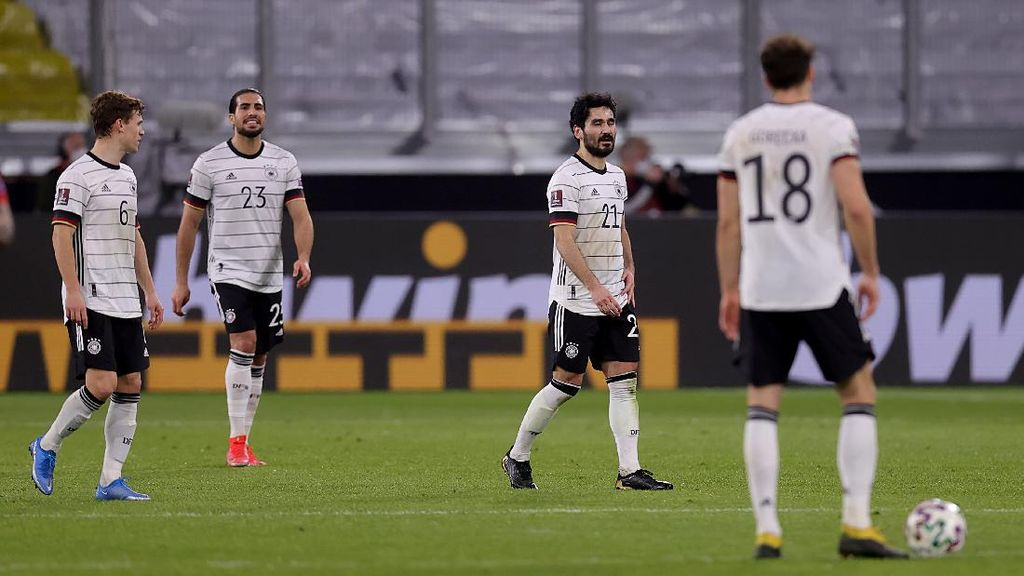 Jerman Menyerah 1-2 atas Makedonia Utara