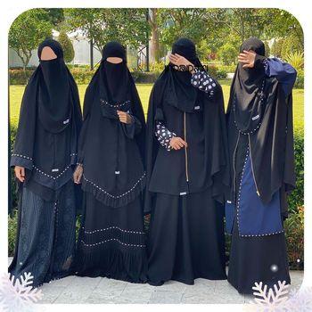 Wanita berniqab ingin menjalankan sunnah Nabi.