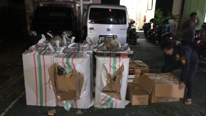 324.000 batang Rokok ilegal disita Bea Cukai Kudus