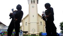 Densus Sudah Amankan 24 Orang Diduga Rekan Bomber Gereja Makassar