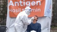 Cegah Lonjakan Kasus, Jabar Siapkan 15 Ribu Test Antigen Khusus Destinasi Wisata