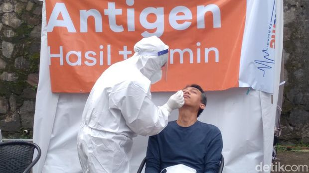 Kartu vaksin Covid-19 bsia gantikan rapid tes antigen buat ke Puncak, Bogor