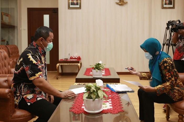 Wali Kota Semarang Hendrar Prihadi mengimbau agar seluruh warga untuk ikut mensukseskan program tersebut mengingat pentingnya hasil yang nanti diperoleh.