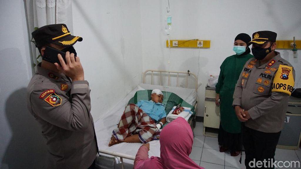 Mata Ibu di Mojokerto yang Dianiaya Anak Kandung Pakai Palu Terpaksa Dilepas