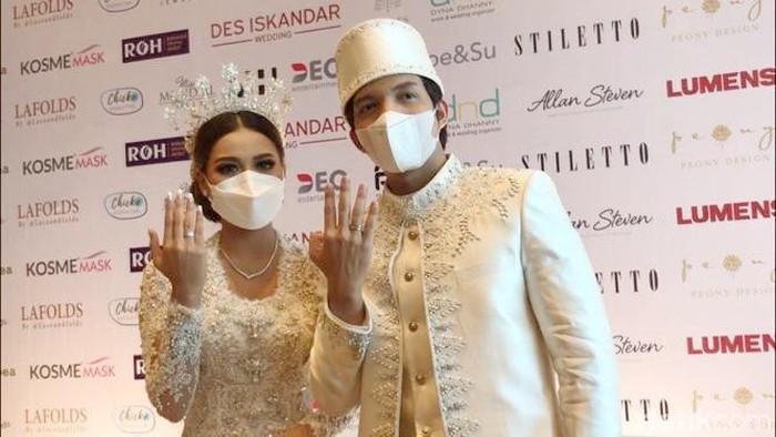 Atta Halilintar, Aurel Hermansyah menikah