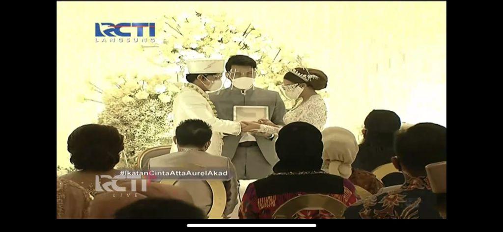 Cincin Pernikahan Atta Halilintar dan Aurel Hermansyah