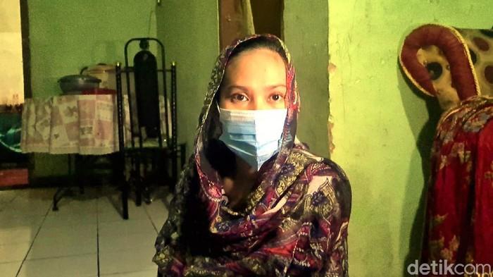 Istri terduga teroris di Sukabumi