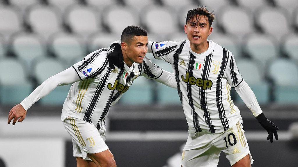 Allegri Pilih Ronaldo atau Dybala Jadi Eksekutor Juventus?