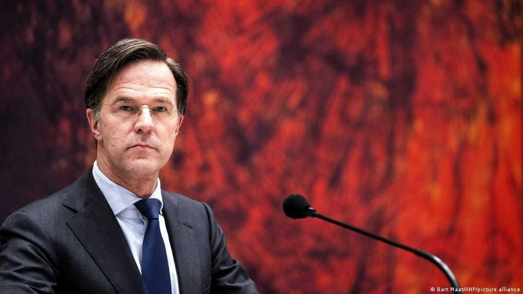 Kala PM Belanda Mark Rutte Terjerat Mosi Tidak Percaya