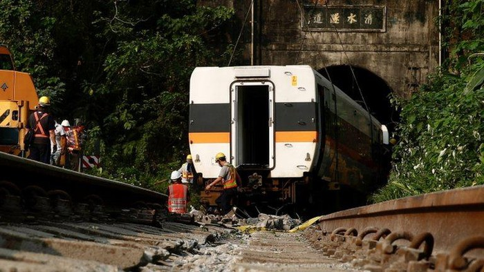 Kecelakaan kereta di Taiwan: Jaksa minta pihak yang bertanggung jawab ditangkap