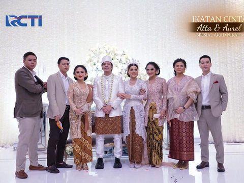 Krisdayanti di Pernikahan Atta Halilintar dan Aurel Hermansyah