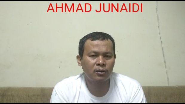Pengakuan teroris di Jakarta: Rencanakan Peledakan Industri China-SPBU. Foto screenshot video yang dikirim orang Densus