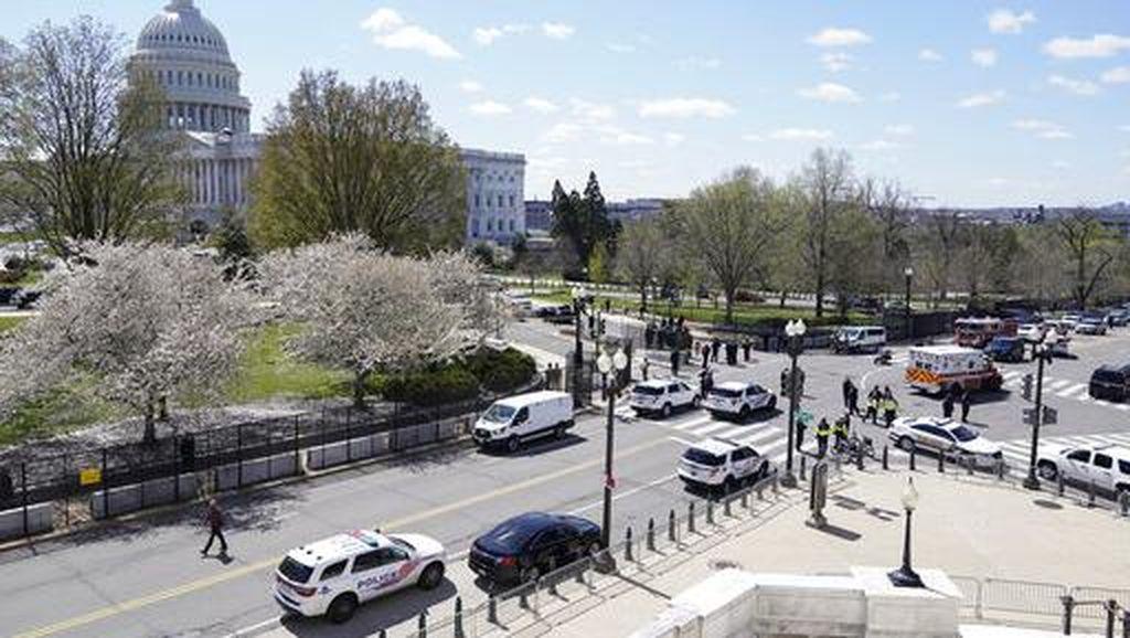 Polisi AS Selidiki Truk Pikap Diduga Bawa Bom Dekat Gedung Capitol