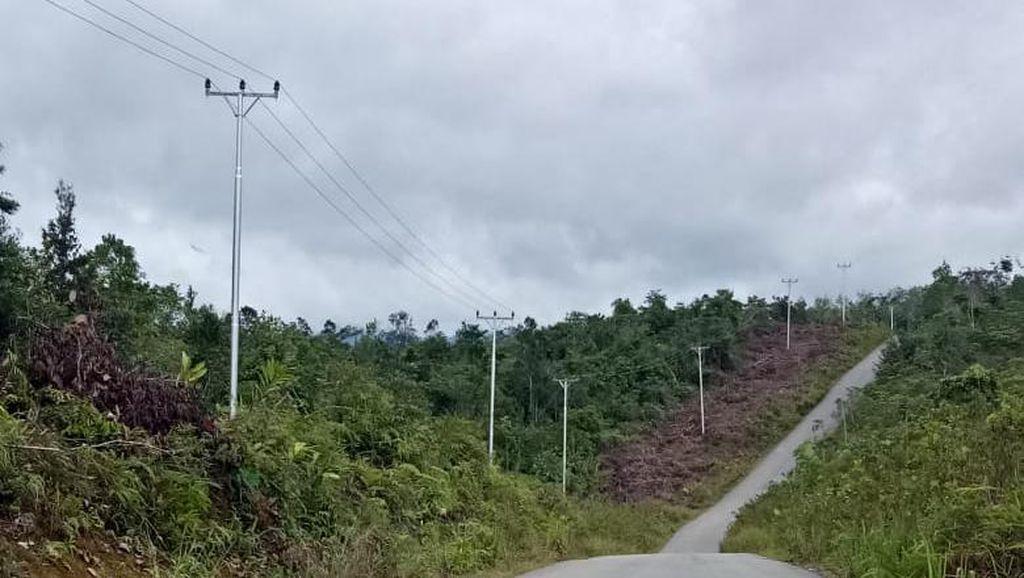 Senangnya! 8 Desa di Perbatasan RI-Malaysia Tak Lagi Gelap Gulita