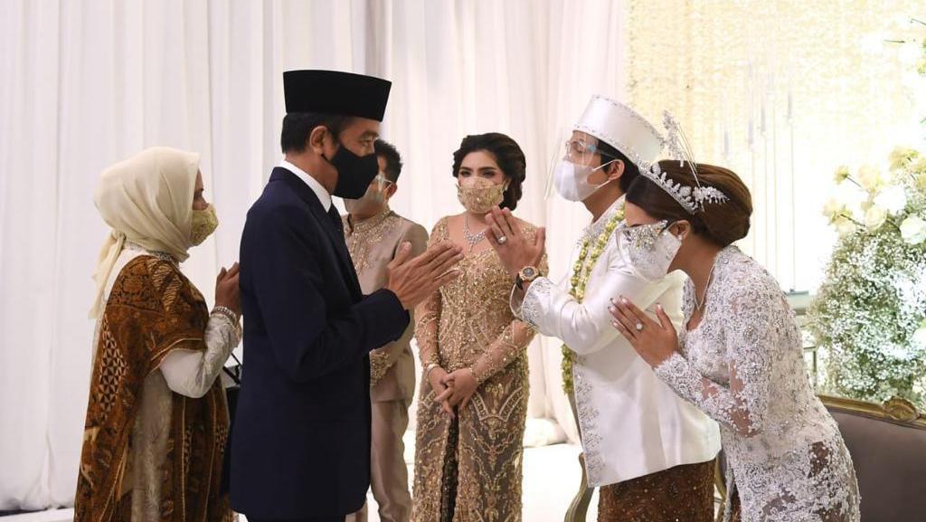 Momen Jokowi-Prabowo Jadi Saksi Pernikahan Atta dan Aurel