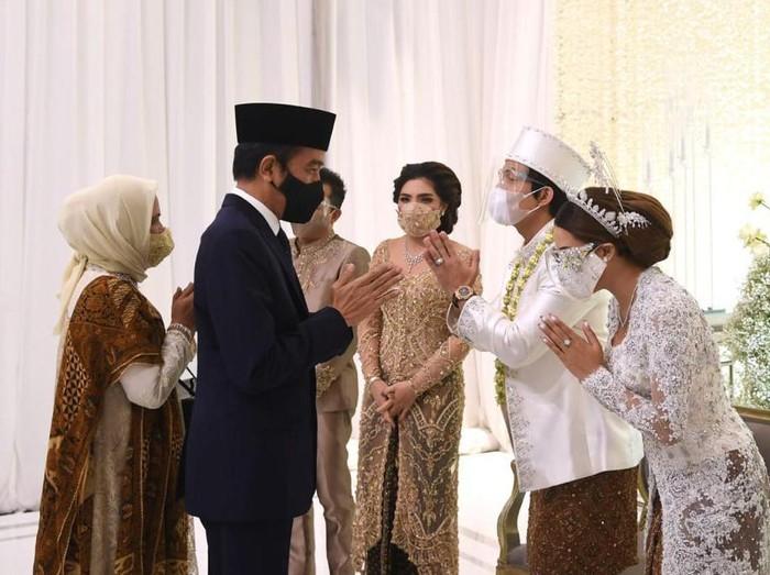 Presiden Jokowi Jadi Saksi Pernikahan Atta dan Aurel