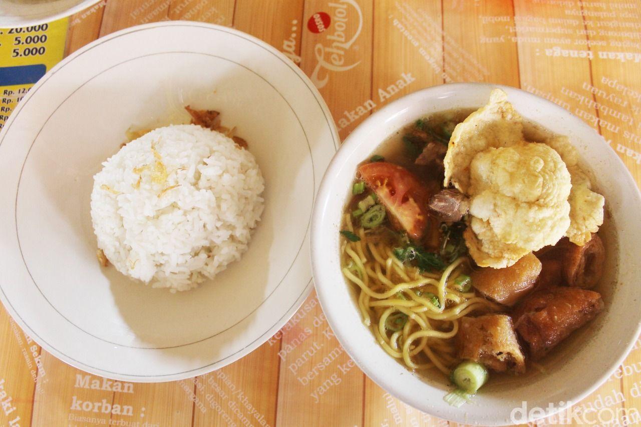 soto mie mang ohim yang rasanya segar di Bogor