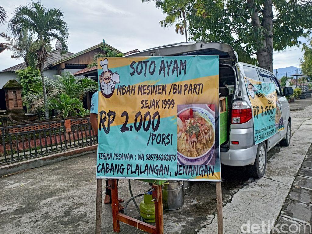 Sueger Mantap! Sarapan Soto Ayam Rp 2.000 Semangkok