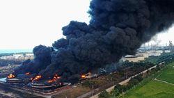 Kabareskrim Selidiki Unsur Kelalaian Kebakaran Kilang Pertamina Indramayu
