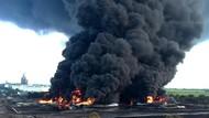 Bos Pertamina Tepis Kebakaran Tangki Balongan Akal-akalan Impor BBM