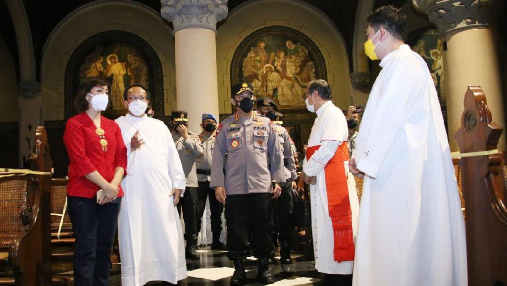 Kapolri Pastikan Perayaan Paskah di Indonesia Berjalan Dengan Aman
