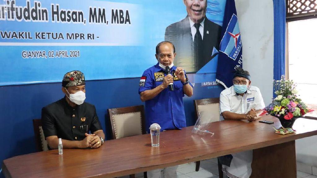Wakil Ketua MPR Dorong Bali Kembali Jadi Mercusuar Pariwisata RI