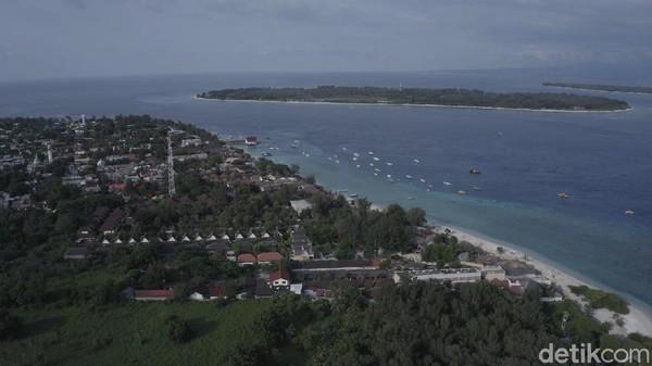 Sebelum pandemi Covid-19 menyerang, Gili Trawangan di Lombok menjadi surga bagi turis asing. Tapi, kini kondisinya mirip pulau hantu (Wisnu/20detik)
