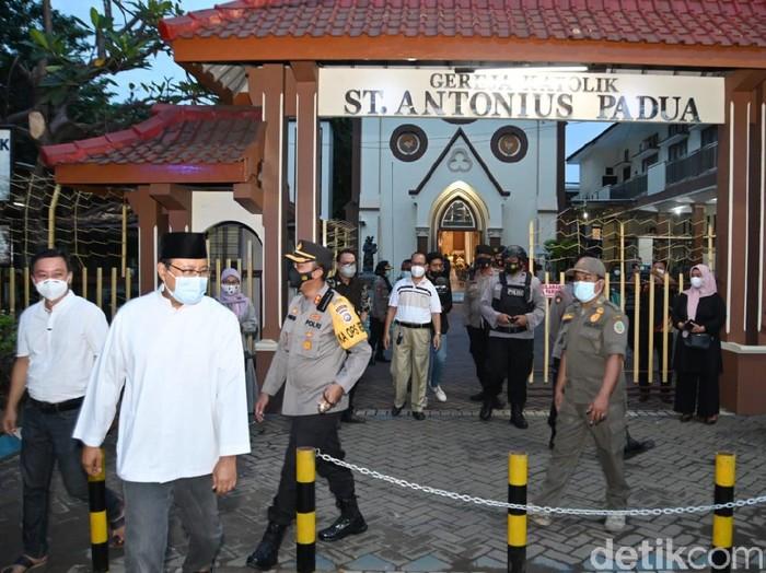Wali Kota Pasuruan Saifullah Yusuf (Gus Ipul) memastikan perayaan Paskah di wilayahnya kondusif. Gus Ipul pun menyampaikan terima kasih pada warga dan aparat keamanan.