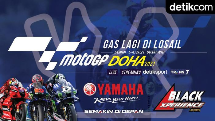 Infografis MotoGP Doha 2021
