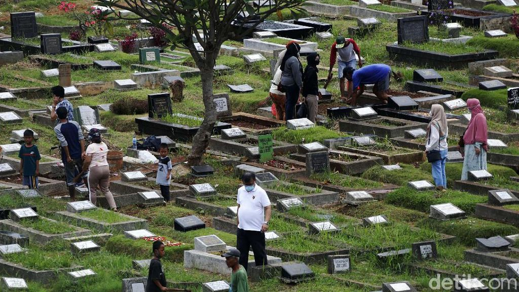 5 Hari Tanpa Ziarah Kubur di Jabodetabek