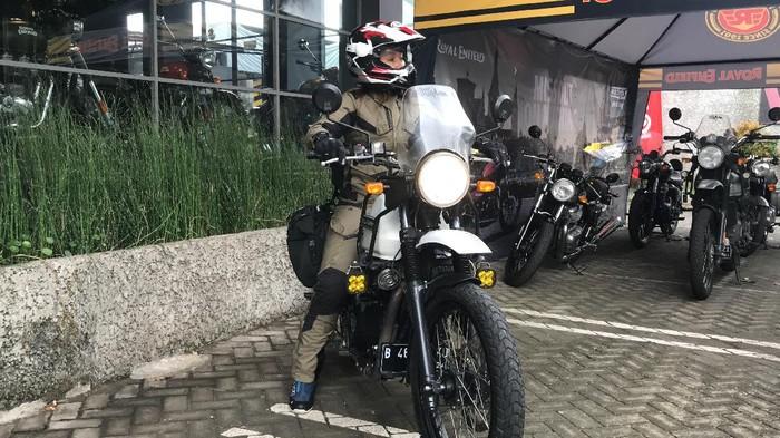 Jisel, Lady Bikers Siap Touring Jakarta-Bali, Ini Misinya!