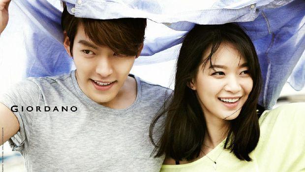 Shin Min Ah dan Kim Woo Bin