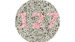 Tes buta warna ini mengharuskan kamu menemukan siluet angka maupun gambar tersembunyi. Bila sulit, bisa jadi itu tanda buta warna, sebaiknya cek ke dokter.