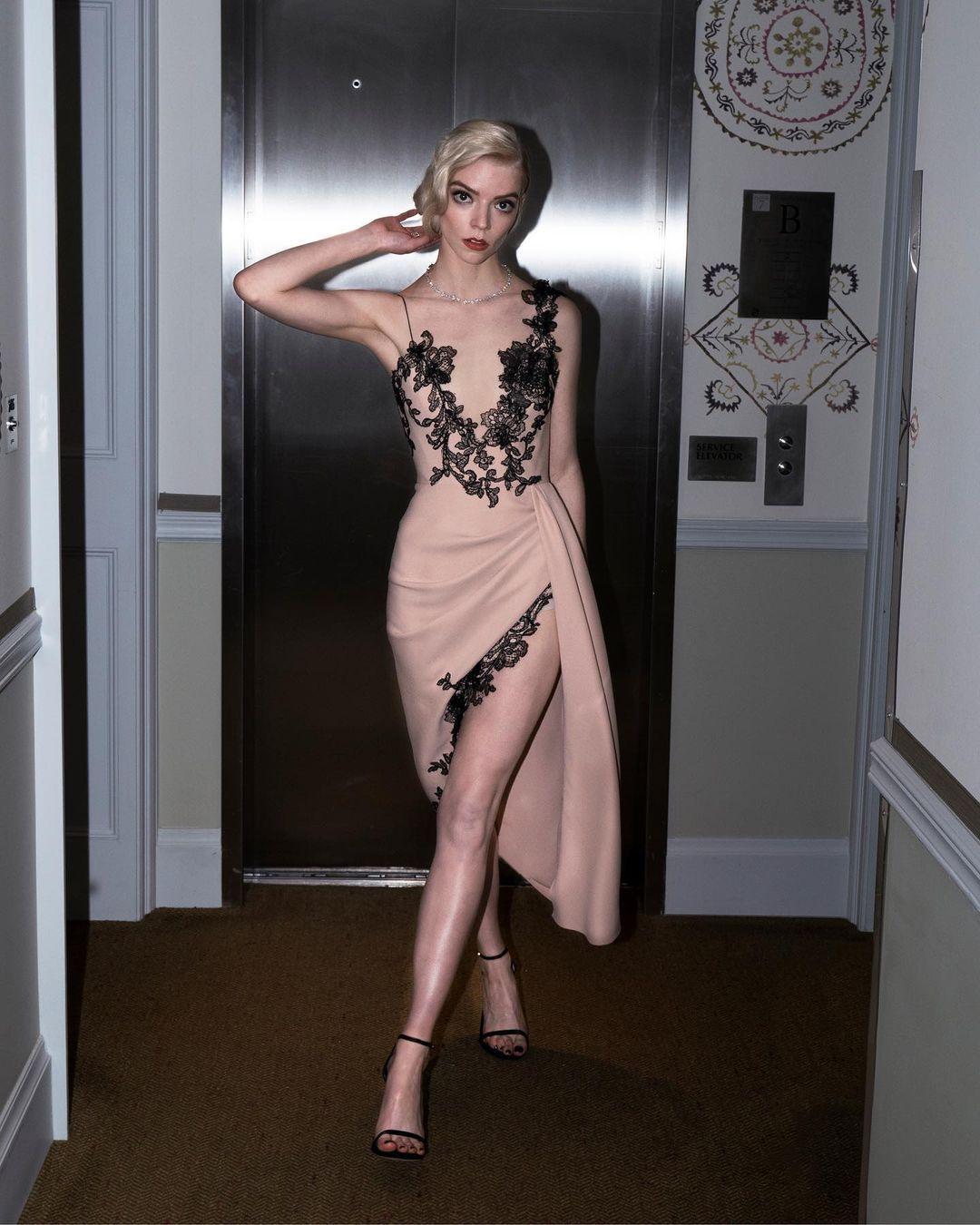 Anya Taylor-Joy di SAG Awards 2021