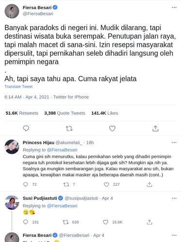 Kontroversi kehadiran Jokowi di pernikahan Atta dan Aurel