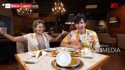 Bikin Laper! Dimas Beck dan Nikita Mirzani Makan Steak dan Baklava Lapis Emas Rp 25 Juta