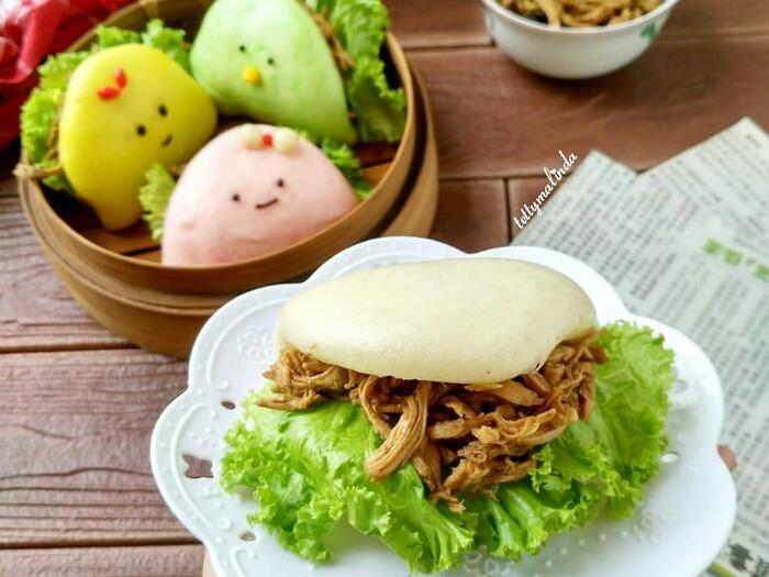 Bakpao Ayam Suwir