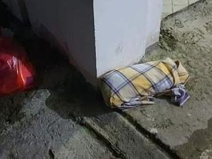 Bayi perempuan berusia sebulan ditemukan di teras rumah warga Pangkep, Sulsel (dok Istimewa)