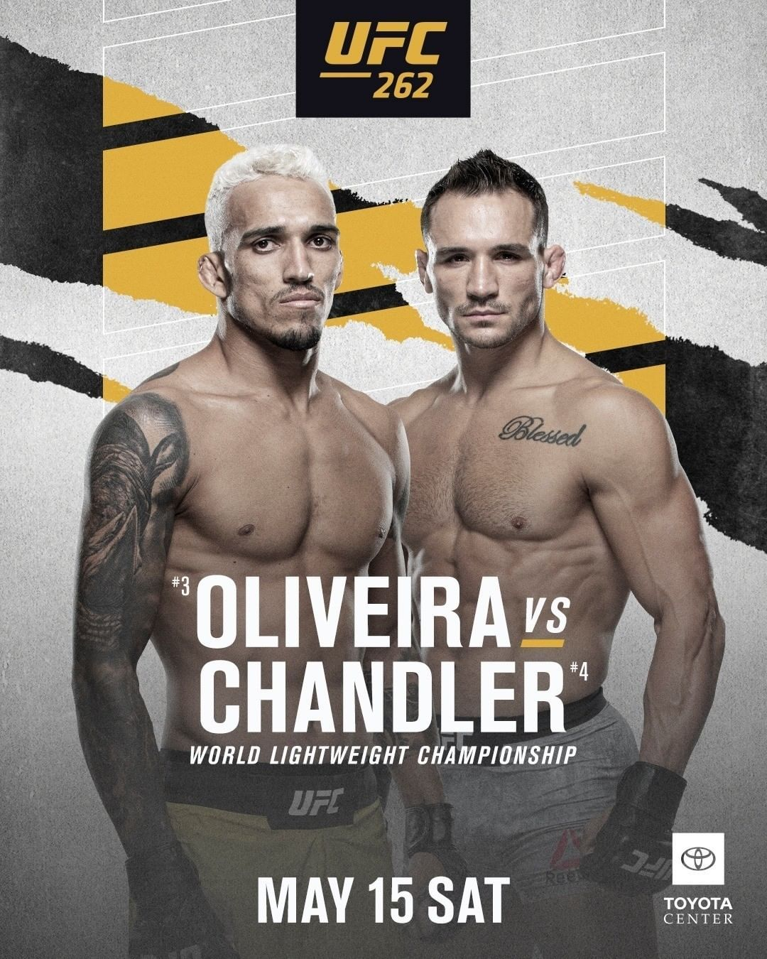 Charles Oliveira vs Michael Chandler