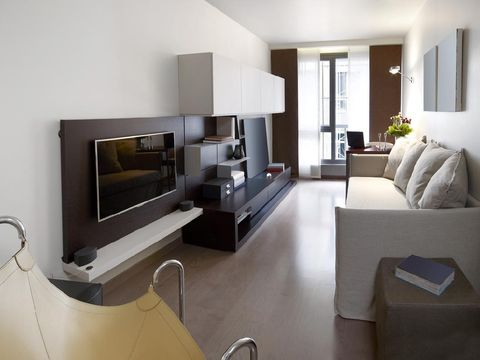 living room of a modern house