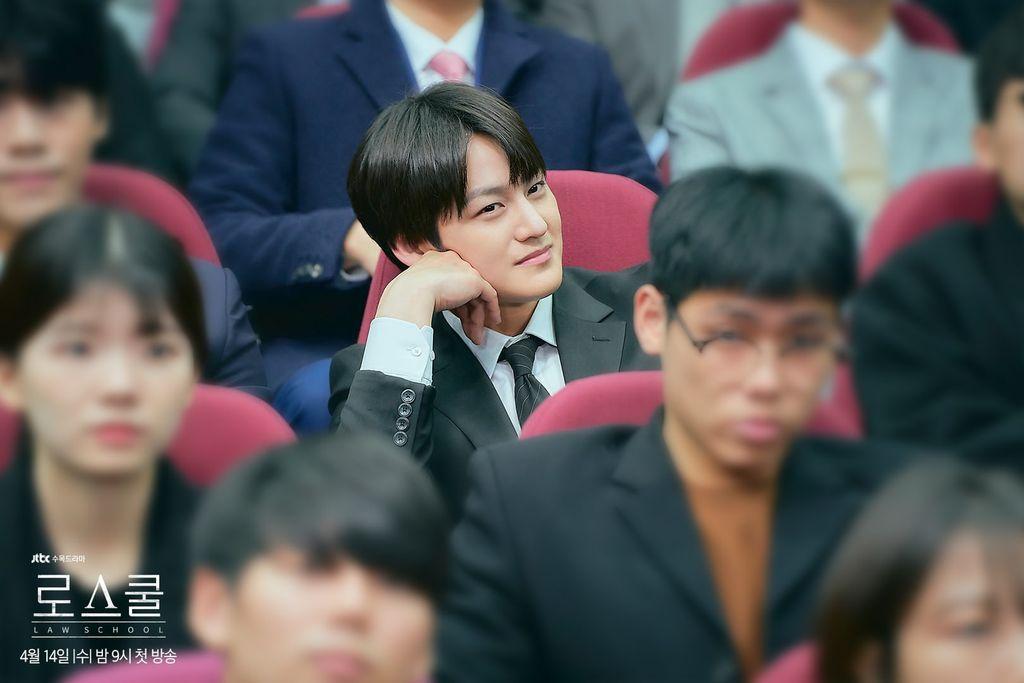 drama Korea Law School, Kim Bum