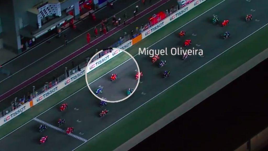 Usai Melesat Bak Roket, Speedometer Motor KTM Miguel Oliveira Langsung Mati